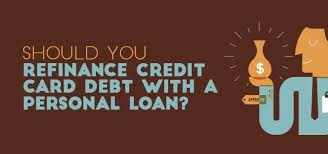 Availing a personal loan for repaying outstanding credit card debt