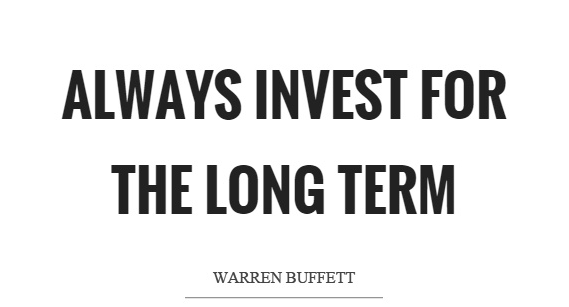 It pays to stay invested in the long run…